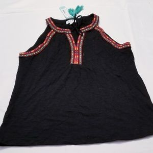 Stitch fix Chai Embroidered knit top